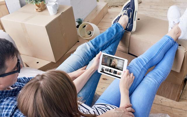 Simplemente usa la aplicaciónFios TV para seguir viendo tus programas favoritos.
